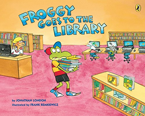 Froggy Goes to the Library from Puffin Books