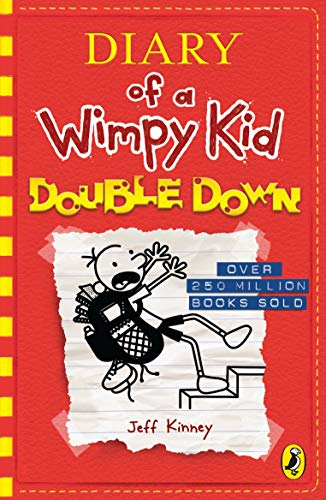 Diary of a Wimpy Kid: Double Down (Diary of a Wimpy Kid Book 11) from Puffin
