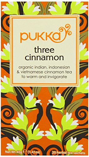 (2 Pack) - Pukka Herbs - Three Cinnamon Tea | 20 sachet | 2 PACK BUNDLE from Pukka