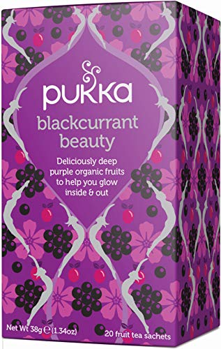 Pukka Blackcurrant Beauty Tea Bags (Pack of 4) from Pukka