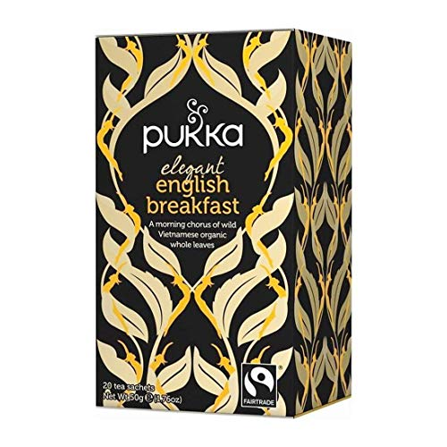Pukka Organic Elegant English Breakfast Tea 20 x 2g from Pukka