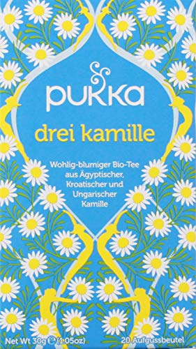 Pukka Tea - Three camomile Tea 20 Teabags from Pukka