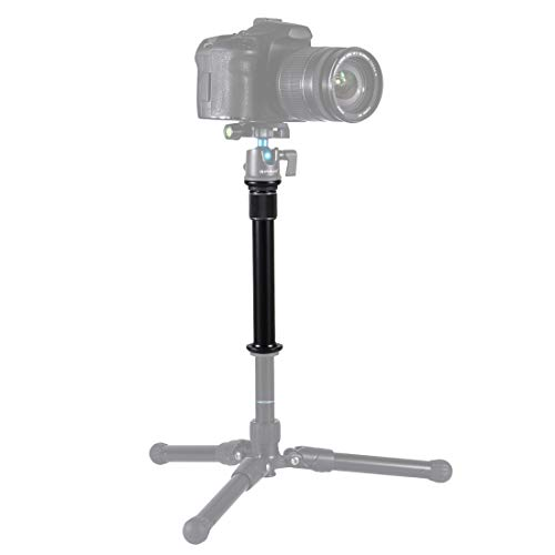 PULUZ Metal Handheld Adjustable Tripod Mount Monopod Extension Rod for DSLR & SLR Cameras from PULUZ