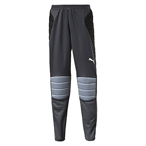 PUMA Men's Hose GK Padded Pants Trousers, Ebony-Black-Tradewinds, Large from PUMA