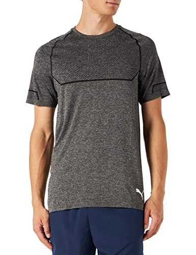 7dfaaa6c902 PUMA Men's Energy Seamless Tee T Shirt, Black Heather, Large from Puma.  found at Amazon Marketplace