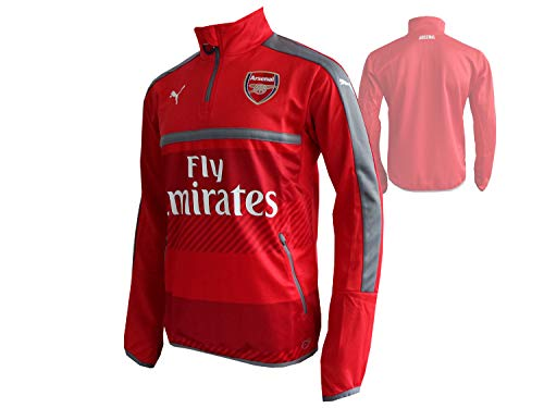 PUMA AFC Men's Shirt high risk red/steel gray FR: S (Manufacturer's Size: S) from PUMA