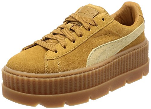 PUMA Fenty Cleated Creeper Suede Women, Brown, 41 EU from PUMA