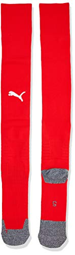 Puma LIGA Socks, Unisex Socks, Red (Puma Red/Puma White), 3-5 UK (Manufcturer Size -2) from PUMA