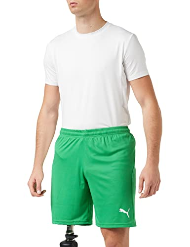 PUMJV|#Puma Men LIGA Shorts Core Training Shorts - Pepper Green-Puma White, M from PUMA