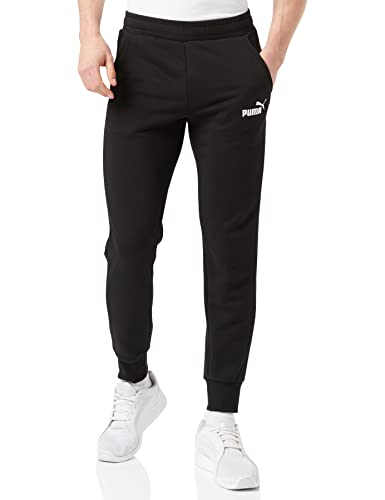 Puma Men's ESS Logo TR cl Pants, Black, 2X-Large from Puma