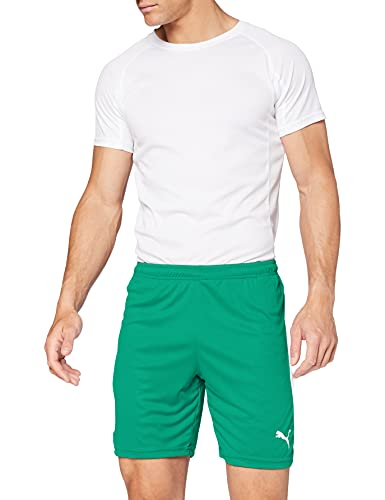PUMA LIGA Pants - Pepper Green/White, X-Large from PUMA