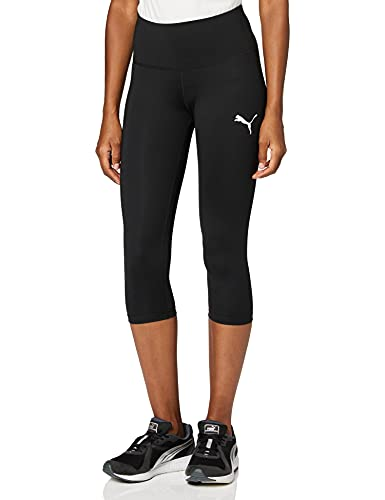 PUMA Women's Active 3/4 Leggings Pants, Black, Small from PUMA