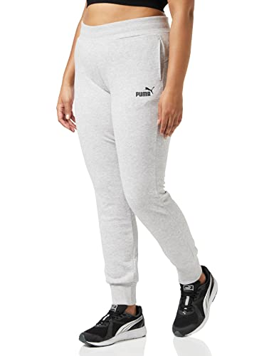 PUMA Women's ESS TR cl Sweat Pants, Light Grey Heather, Large from PUMA