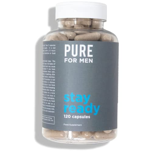 Pure for Men - The Original Vegan Cleanliness Fibre Supplement, 120 Capsules - Proven Proprietary Formula from Pure for Men