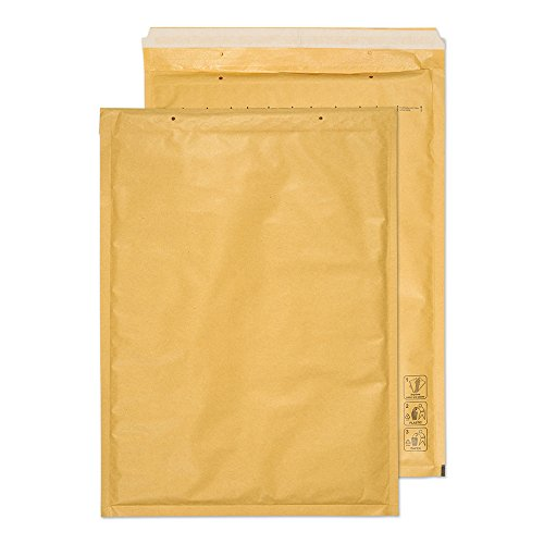 Blake Purely Packaging C3 430 x 300 mm Envolite Peel & Seal Padded Bubble Envelopes (J/6 GOLD) Gold Kraft - Pack of 50 from Blake