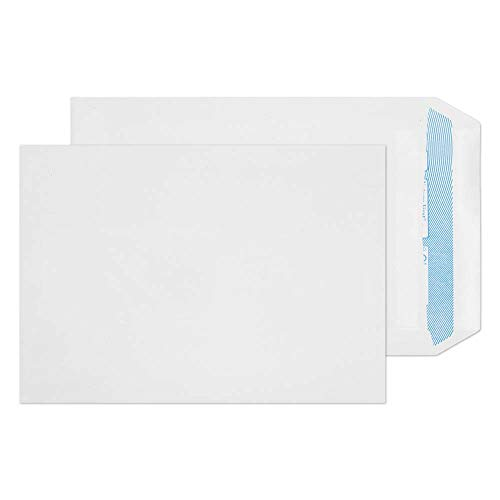 Blake Purely Environmental C5 229 x 162 mm 90 gsm Nature First Recycled Pocket Self Seal Envelopes (RN17893) White - Pack of 500 from Blake