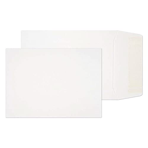Blake Purely Everyday 124 x 89 mm 90 gsm Pocket Gummed Envelopes (12489) White - Pack of 1000 from Blake