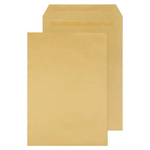 Blake Purely Everyday 381 x 254 mm 115 gsm Pocket Self Seal Envelopes (13890) Manilla - Pack of 250 from Blake