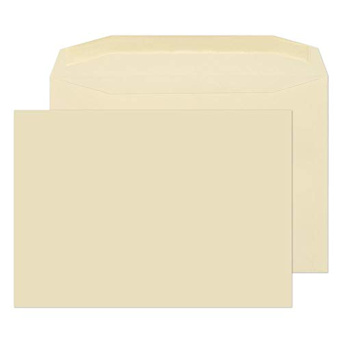 Blake Purely Everyday C4 229 x 324 mm 100 gsm Gummed Mailer Envelopes (C8177) Cream - Pack of 250 from Blake