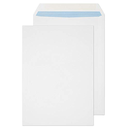 Blake Purely Everyday C4 324 x 229 mm 120 gsm Pocket Gummed Envelopes (14856) White - Pack of 250 from Blake
