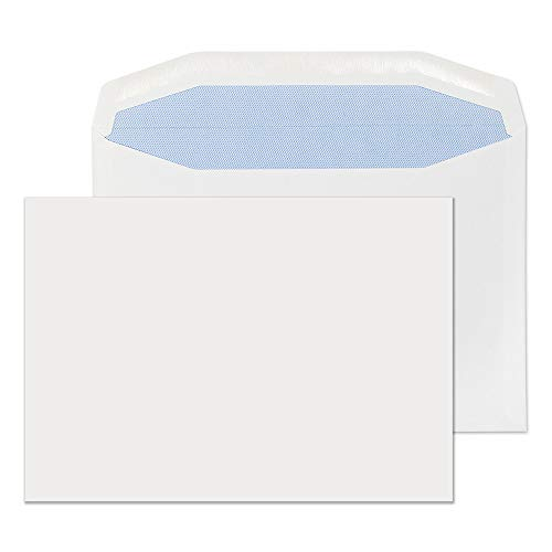 Blake Purely Everyday C5+ 162 x 235 mm 90 gsm Gummed Mailer Envelopes (4407) White - Pack of 500 from Blake