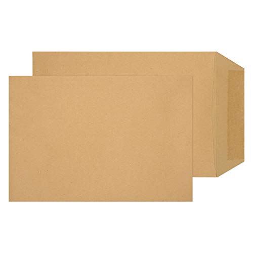 Blake Purely Everyday C5+ 240 x 165 mm 90 gsm Pocket Gummed Envelopes (9275) Manilla - Pack of 500 from Blake