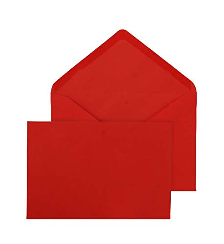 Blake Purely Everyday C5 162 x 229 mm 100 gsm Banker Invitation Gummed Envelopes (ENV3661) Red - Pack of 500 from Blake