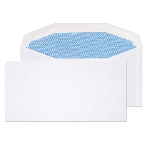 Blake Purely Everyday DL+ 114 x 229 mm 80gsm Mailer Gummed Envelopes (3503) White - Pack of 1000 from Blake