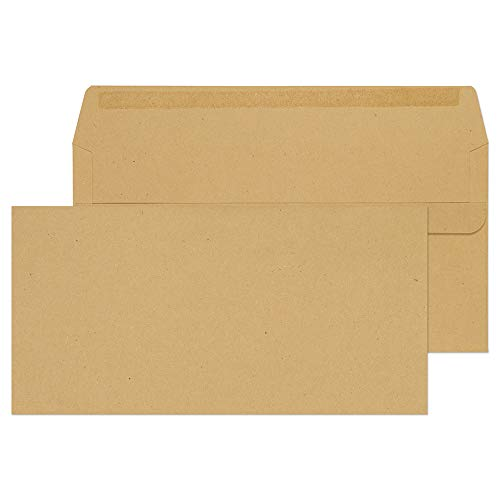 Blake Purely Everyday DL 110 x 220 mm 80 gsm Self Seal Wallet Envelopes (11882) Manilla - Pack of 1000 from Blake
