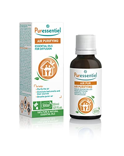 Puressentiel Essential Oils for Diffusion, Air Purifying Blend 30 ml – Aromatherapy, 100% pure and natural essential oils to help purify the air – For home, office, hotel, spa from Puressentiel