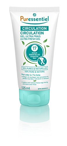 Puressentiel Circulation Ultra Fresh Gel with 17 Essential Oils from PURESSENTIEL
