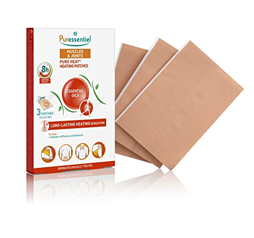 Puressentiel Muscles and Joints Heating Patches - Pack of 3 from Puressentiel