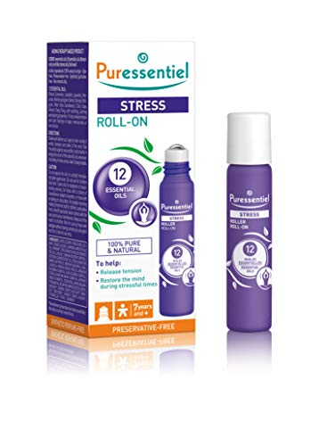 Puressentiel Stress Roller with 12 Essential Oils 5ml from PURESSENTIEL