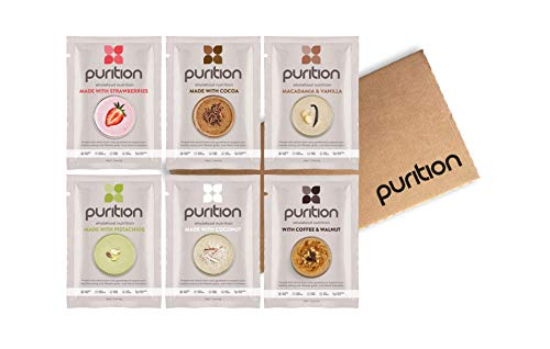 Purition Original Trial Box | Premium High Protein Powder for Shakes and Smoothies | 6 x 40g sachets from Purition