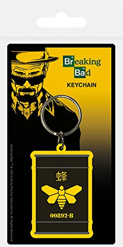 Pyramid International Breaking Bad Golden Moth Rubber Keychain, Multi-Colour, 4.5 x 6 cm from Pyramid International