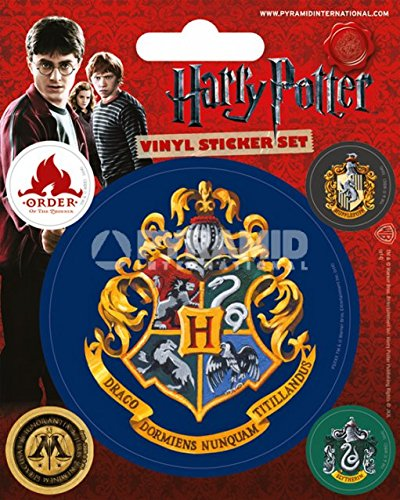 Pyramid International Harry Potter (Hogwarts) Vinyl Stickers, Paper, Multi-Colour, 10 x 12.5 x 1.3 cm from Pyramid International