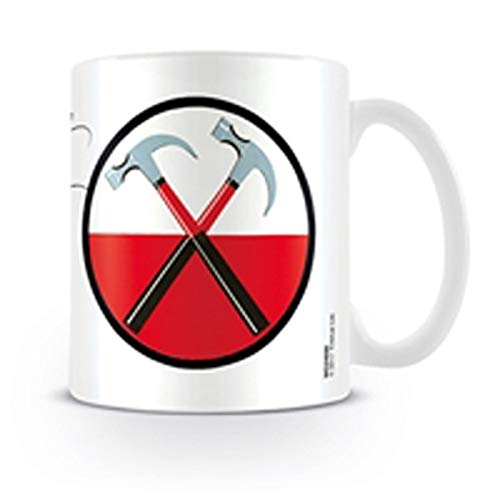 Pyramid International Pink Floyd The Wall (Hammers) Official Boxed Ceramic Coffee/Tea Mug, Paper, Multi-Colour, 11 x 11 x 1.3 cm from Pyramid International
