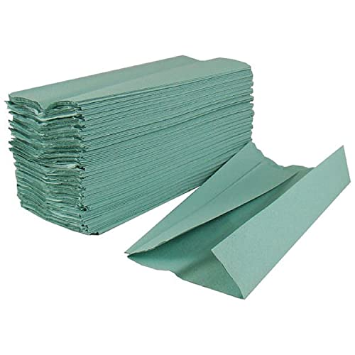 2Work Green 1-Ply C-Fold Hand Towel (Pack of 2880) HC128GRVW from 2WORK