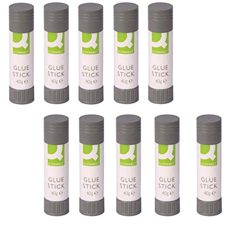 20x Q-Connect Glue Stick 40g KF10506Q CLASS PACK OF 20 from Q-Connect