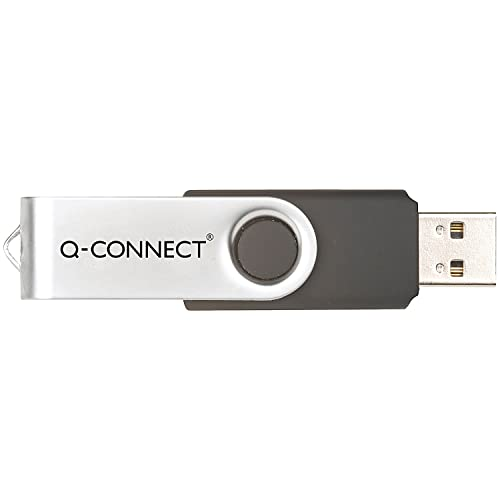 Q-Connect 32GB USB Flash Drive - White from Q-CONNECT
