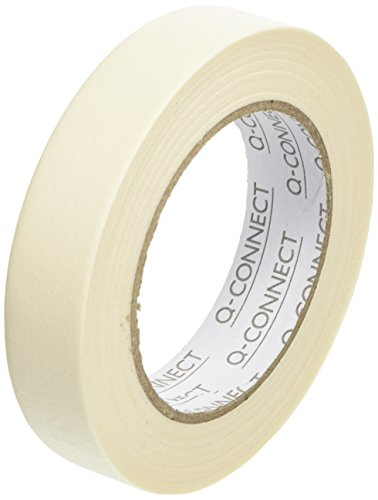 Q-Connect KF01789 Masking Tape 24mm x50m(Pack of 12) from Q-CONNECT
