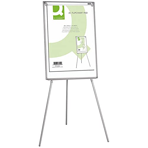 Q-Connect Plain Flipchart Pad A1 40 Sheet, Pack of 5 from Q-Connect