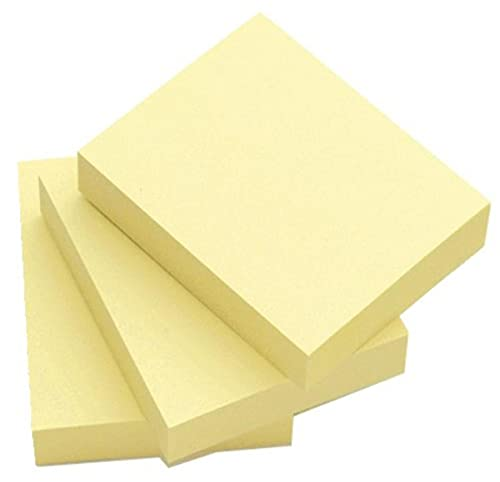 Q-Connect Repositionable Quick Notes 51 x 76mm Yellow (Pack of 12) from Q-CONNECT