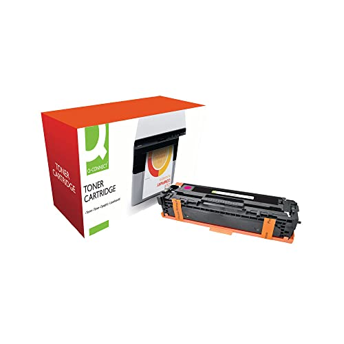 Q-Connect Compatible Toner for HP CP1215 Toner, Magenta CB543A from Q-CONNECT