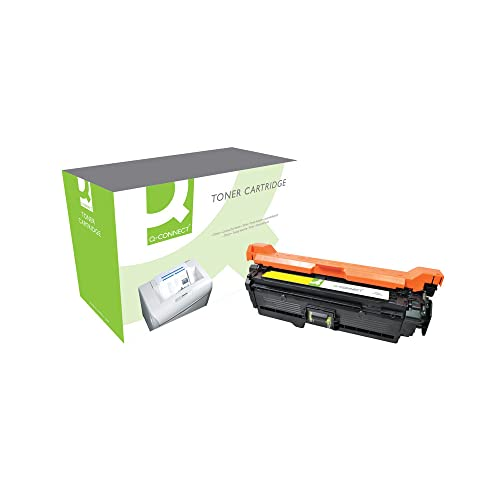 Q-Connect Compatible Toner for HP Toner Cartridge, Yellow CE252A from Q-CONNECT