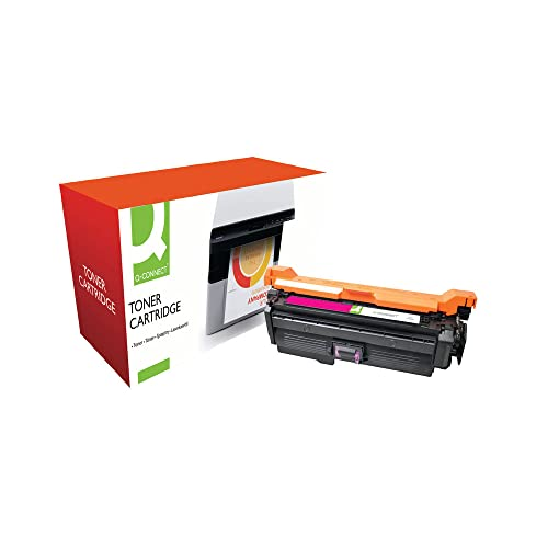 Q-Connect Compatible Toner for HP CP4520/4525 Toner, Magenta from Q-CONNECT