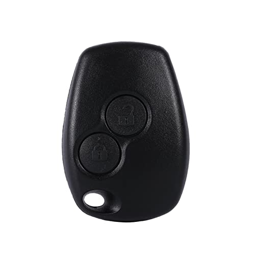 Qiilu Remote 2 Buttons Auto Car Key Fob Shell Cover Case For Renault Kangoo Modus Master from Qiilu