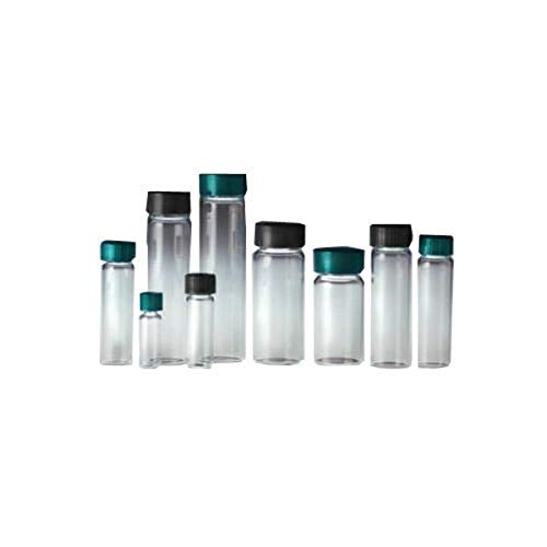 Qorpak GLA-07794 Clear Borosilicate Compound Vial with 13-425 Neck Finish, 14.65 mm x 19 mm, 0.25 dram (Pack of 144) from Qorpak