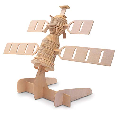 Quay Satelite Woodcraft Construction Kit from Quay