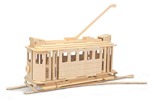 Quay Tram Woodcraft Construction Kit from Quay